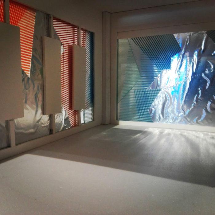 Spiegelpavilioen – kleur en beweging