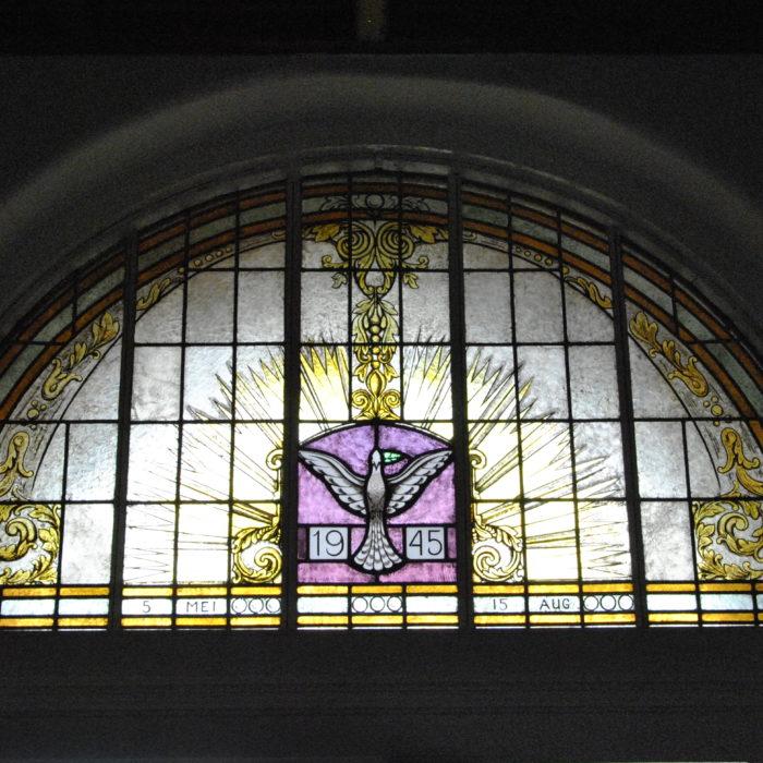 NPB kerk Entree raam